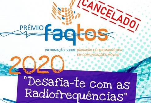 Prémio FAQtos2020 CANCELADO